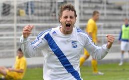 Moravian-Silesian League, footballer Hynek Prokes Stock Photos