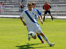 Moravian-Silesian League, footballer Hynek Prokes Stock Photography
