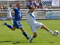 Moravian-Silesian League, footballer Jiri Prokes Stock Photos