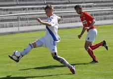 Moravian-Silesian League, footballer Matej Biolek Royalty Free Stock Photo