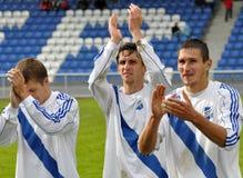 Moravian-Silezische Liga, team frydek-Mistek Stock Afbeeldingen