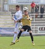 Moravian-Silezische Liga, voetballer B. Forster Stock Foto's