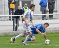 Moravian-Silezische Liga, voetballer Hynek Prokes Stock Afbeelding