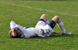 Moravian-Silezische Liga, voetballer Milaan Kerbr Royalty-vrije Stock Foto