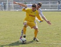 Moravian-Silezische Liga, voetballer Petr Literak Stock Afbeelding