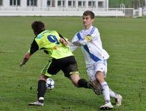 Moravian-Silezische Liga, voetballer Zdenek Stanek Stock Fotografie