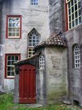 moravian zamek drzwi. Zdjęcia Royalty Free