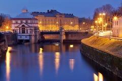 Moravianbrug Royalty-vrije Stock Afbeeldingen