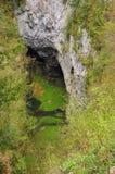 Moravski Kras, République Tchèque Photographie stock
