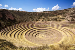 Moray, Cusco, Pérou Photo stock