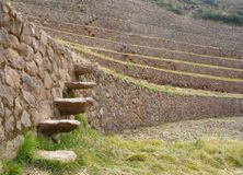 Moray,Cusco, Peru. Royalty Free Stock Photo