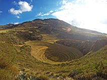 Moray enkel, Peru Royalty-vrije Stock Afbeeldingen