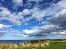 Moray Firth in Buckie, Schotland stock foto