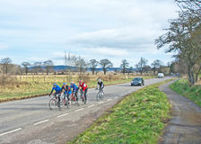 Moray Firth Cycling club outing Stock Photography