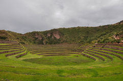 Moray Inca's ruins, Peru Stock Photos