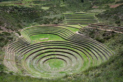 Moray, Sacred Valley of the Incas, Peru. Royalty Free Stock Photo