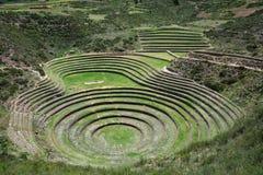 Moray, Sacred Valley of the Incas, Peru. Royalty Free Stock Photo