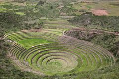 Moray Terraces Royalty Free Stock Image