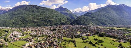 Free Morbegno In Valtellina, Italy Royalty Free Stock Image - 170175536