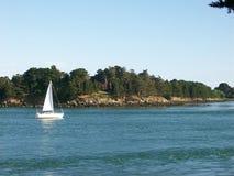 Morbihan στη Βρετάνη στη Γαλλία Στοκ εικόνες με δικαίωμα ελεύθερης χρήσης