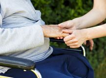 Morbo di Alzheimer Fotografia Stock