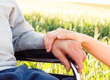 Morbo di Alzheimer Fotografie Stock Libere da Diritti
