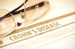 Morbo di Crohn medicina illustrazione 3D Fotografia Stock Libera da Diritti