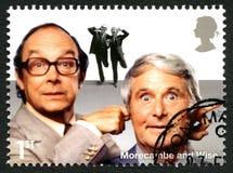 Morcambe e francobollo BRITANNICO saggio Fotografia Stock Libera da Diritti