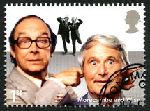 Morcambe and Wise UK Postage Stamp Royalty Free Stock Photo