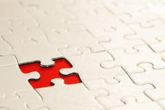 Morceau absent de puzzle images libres de droits