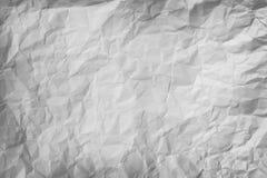Morceau chiffonné de fond de papier gris Image libre de droits