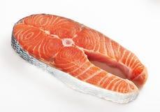 Morceau d'un saumon Image libre de droits