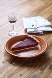 Morceau de Berry Tart rustique image libre de droits