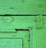 Morceau de bois vert colorated photo stock