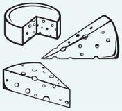 Morceau de fromage illustration libre de droits
