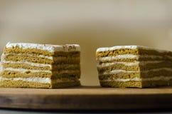 Morceau de gâteau Photo libre de droits