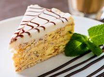 Morceau de gâteau Photographie stock libre de droits