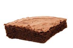 Morceau de gâteau de chocolat Photo libre de droits