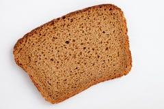 Morceau de pain noir Photographie stock