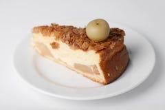 Morceau de tarte aux pommes Photo libre de droits