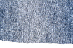 Morceau de tissu bleu-clair de jeans Photos stock