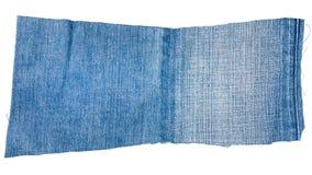 Morceau de tissu bleu-clair de jeans Photo stock