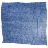 Morceau de tissu bleu-clair de jeans Image libre de droits
