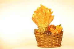Morceau en céramique de thanksgiving photographie stock libre de droits