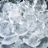 Morceaux abstraits de glace Images libres de droits