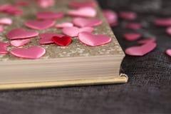 Morceaux d'amour en littérature Photographie stock libre de droits