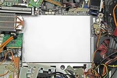 Morceaux d'ordinateur photographie stock libre de droits