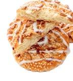 Morceaux de biscuits Images libres de droits