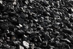 Morceaux de charbon Images libres de droits