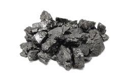 Morceaux de charbon Image stock